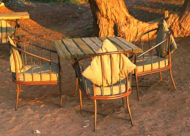 Namibian Dawn with Table Chair